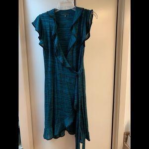 Tiana B. wrap dress